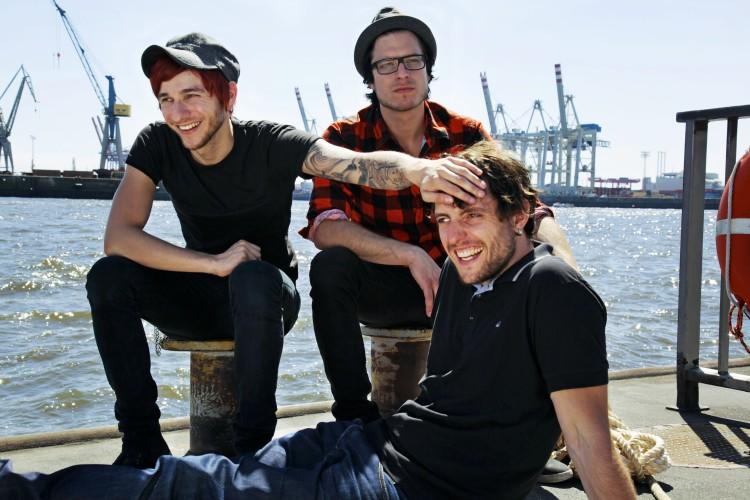De gauche à droite : Daniel Friedl, Max Zimmer, Sebastian Hafner